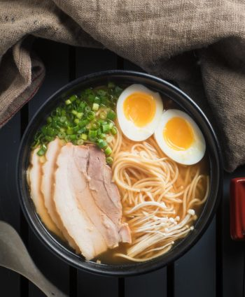 miso ramen with chashu pork