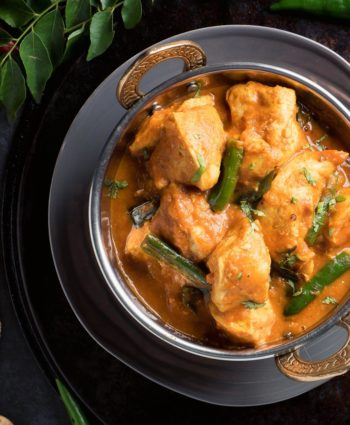 nearly restaurant style chettinad chicken curry