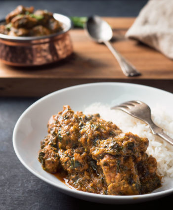 lamb saag – indian restaurant style