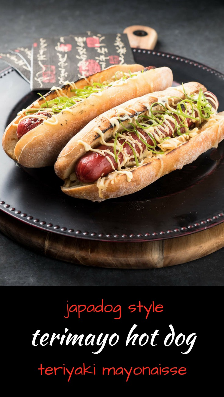 This Japadog inspired terimayo hot dog is possibly the best hot dog you will ever have.