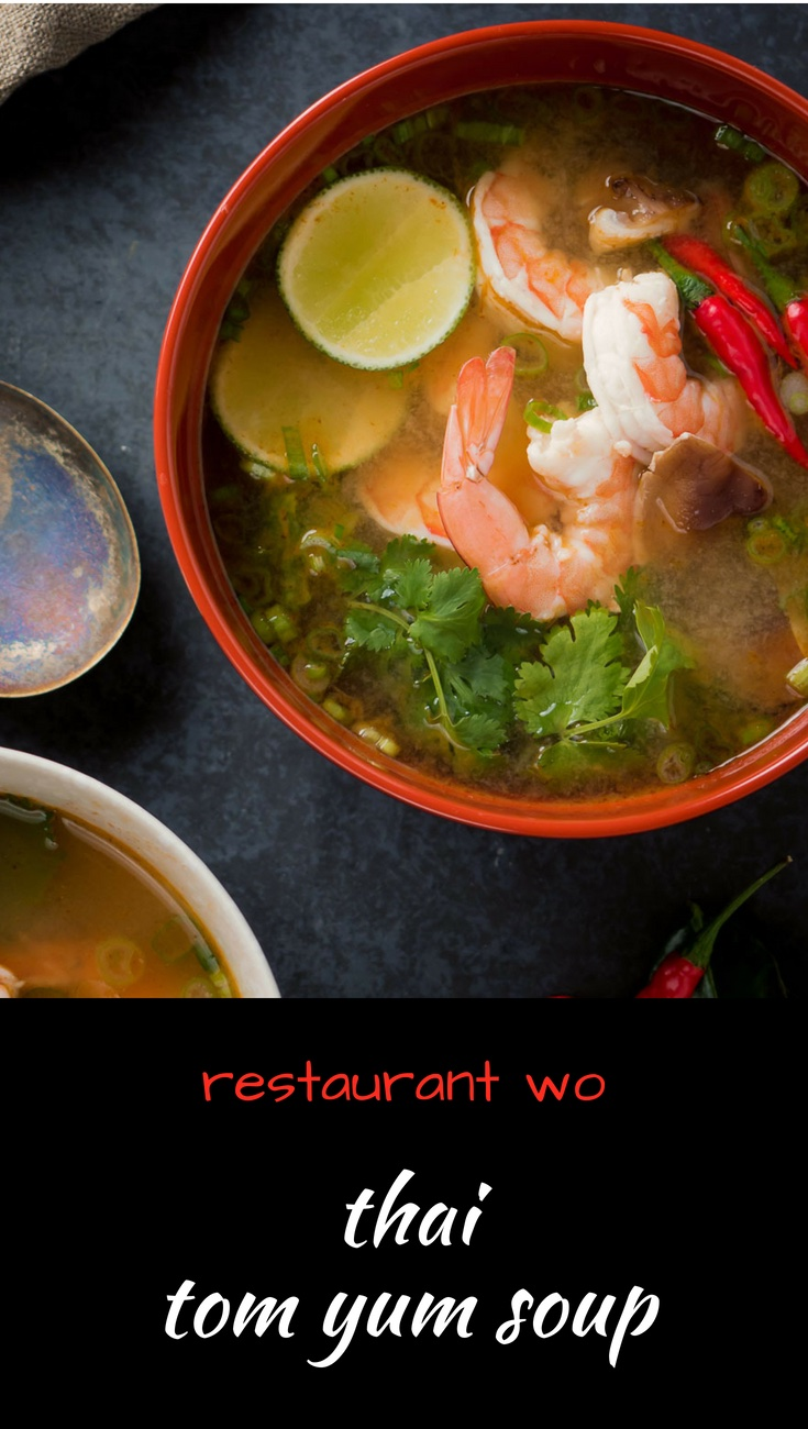 Tom yum soup is famous for a reason. Easy, delicious and perfect for a Thai dinner party.