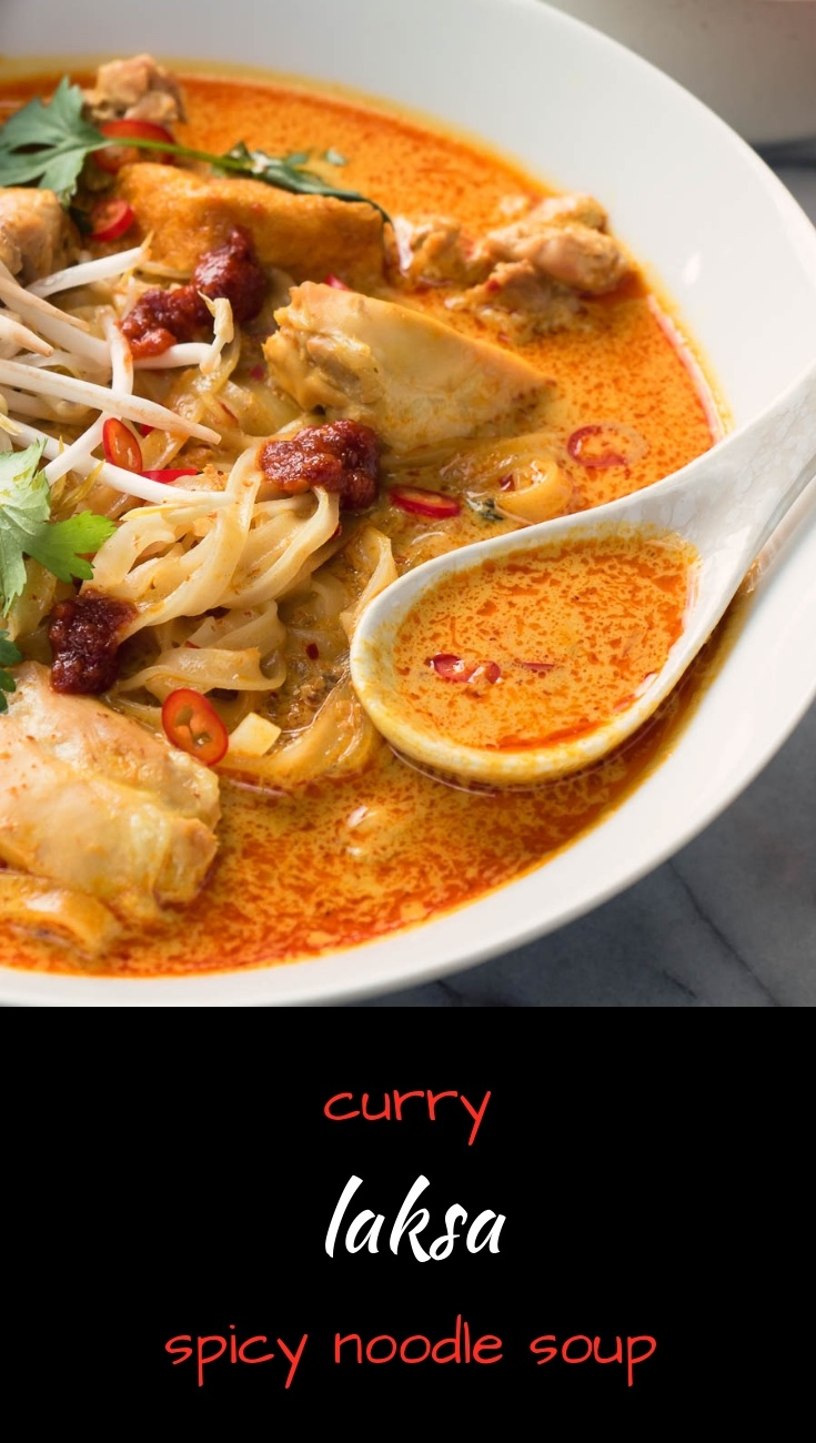 Curry laksa is one of the great Asian noodle soups.