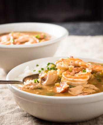 gumbo with chicken and shrimp