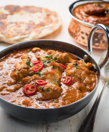 karahi chicken – indian restaurant style