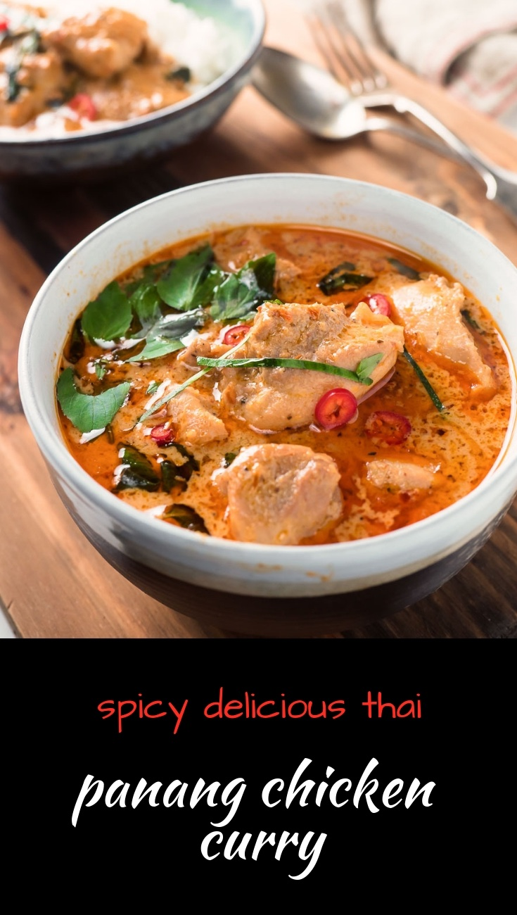 Creamy, spicy and bursting with coconut flavour, panang curry with chicken is the Thai curry you need to be eating...