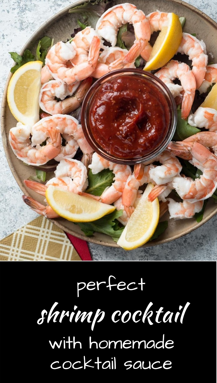 Perfect shrimp cocktail every time. Serve it with homemade cocktail sauce.