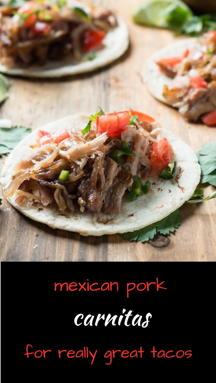 Mexican pork carnitas make the ultimate tacos.