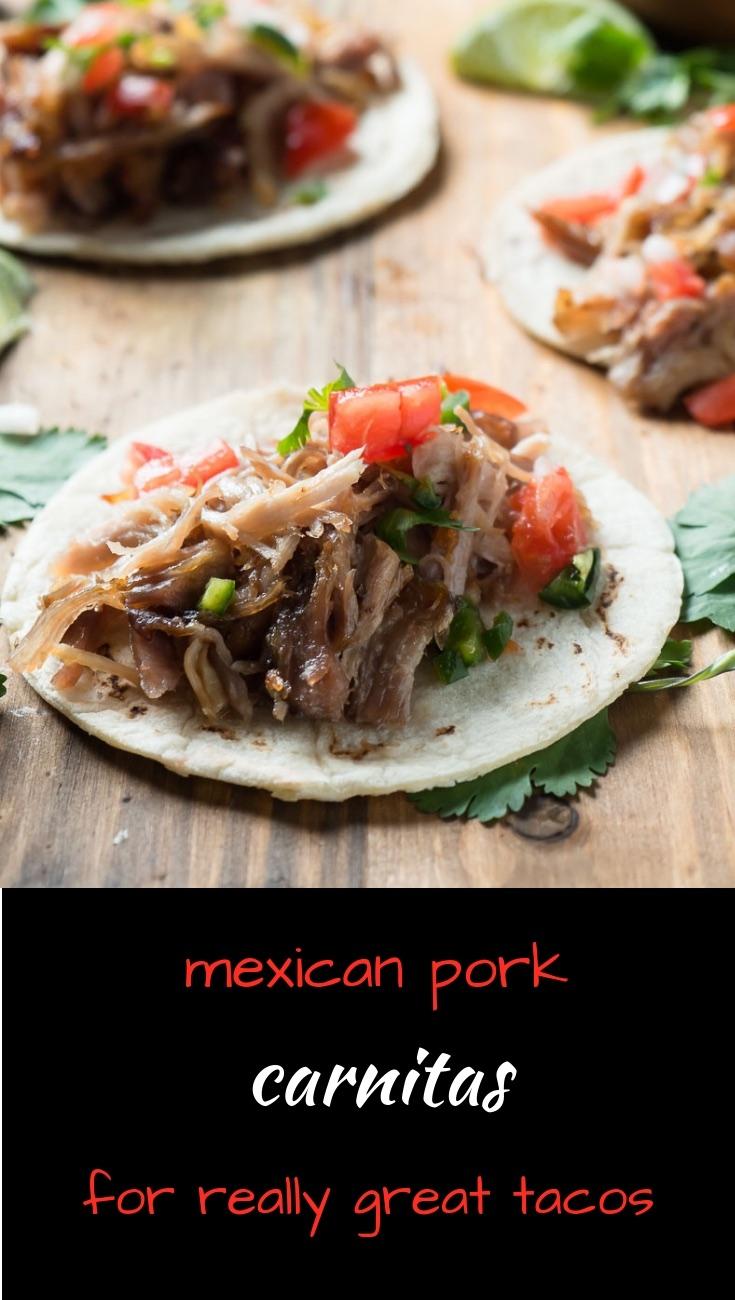 Mexican pork carnitas make the ultimate tacos.