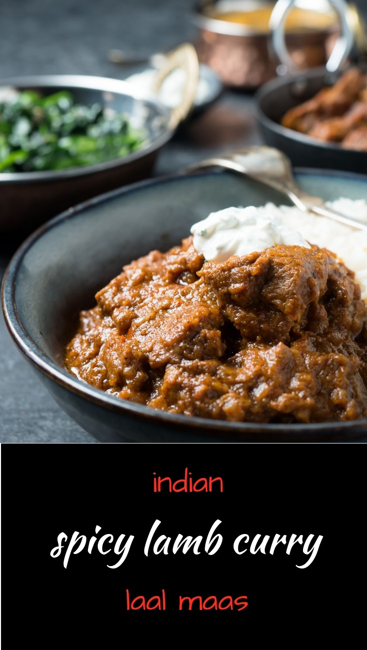 Laal maas is an Indian spicy lamb curry you need to try!