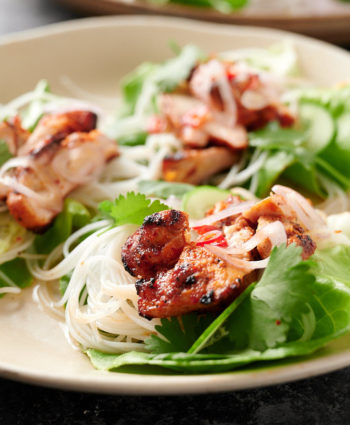 grilled spicy korean chicken lettuce wraps