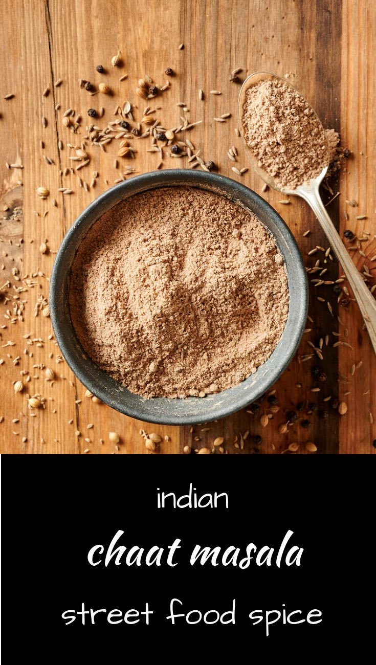 Chaat masala is the secret spice mix in Indian street food.