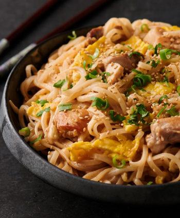 sesame noodles – thai style