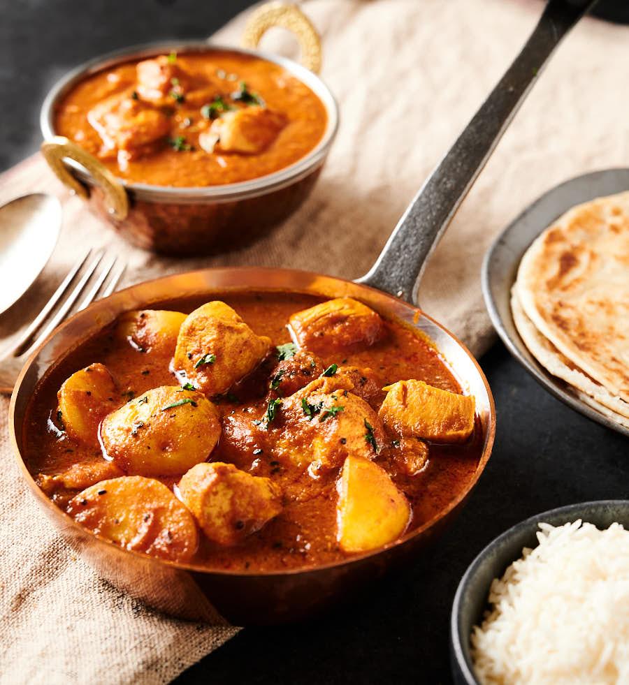 bengali chicken curry - restaurant style