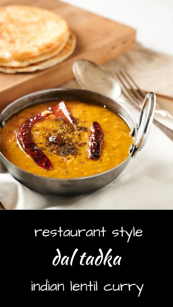 Make dal tadka - it's a delicious Indian lentil curry just like they serve in restaurants.
