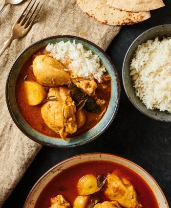 kari ayam – malaysian curry chicken