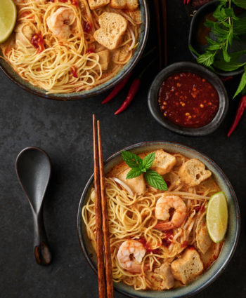 curry laksa – malaysian curry mee