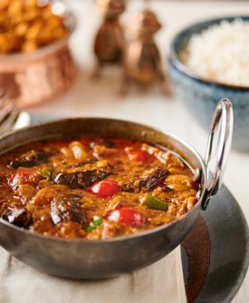 eggplant curry – baingan masala restaurant style