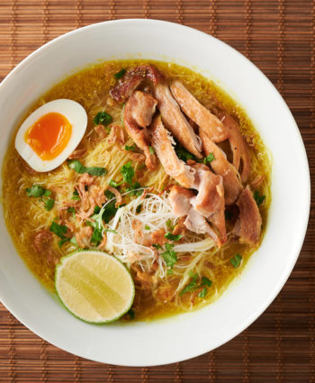 soto ayam – indonesian chicken noodle soup