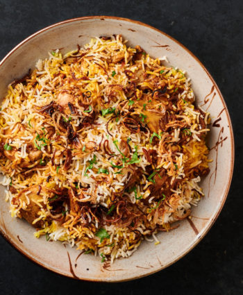 chicken biryani – indian restaurant style