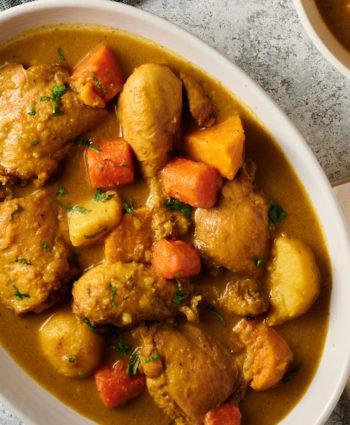 vietnamese chicken curry – cà ri gà