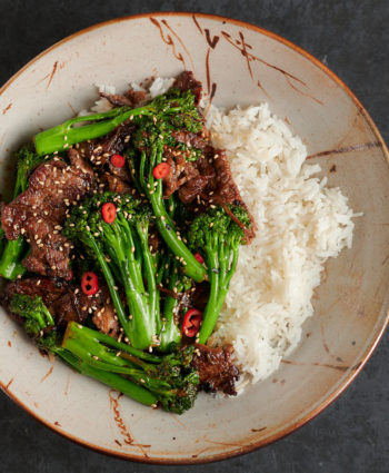 beef and broccoli – thai style