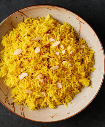 pilau rice – indian restaurant style