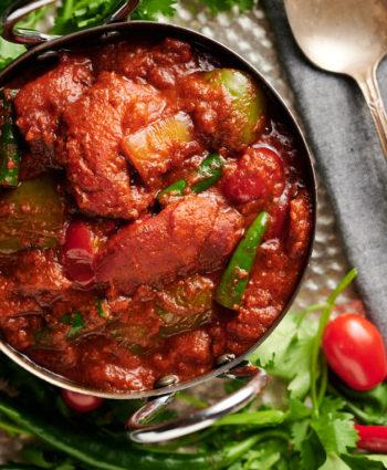 chicken tikka jalfrezi – Indian hotel style