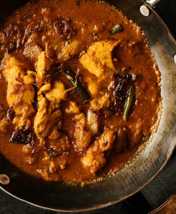 chicken dopiaza – indian hotel style